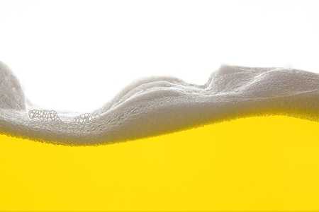 foam party: Golden Beer foam wave