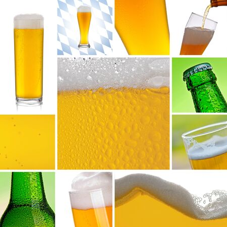 Beer alcohol Collage photo