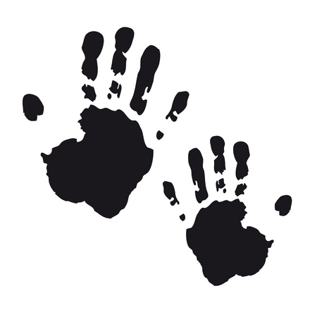 handprints: handprint footprint fingerprint hand kidshand stamp kidsgarden child set