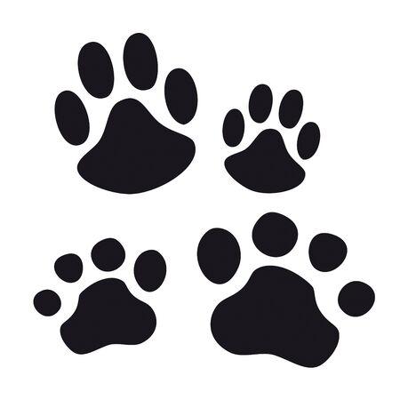 meow: Animal Paw pet wolf paw paw bear footprint animal paw cat paw fingerprint impression