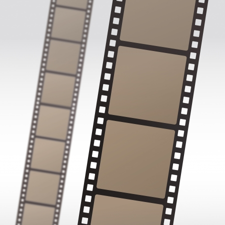 film role: 35mm movie film reel filmstrip photo roll negative reel movie camera cinematic hollywood