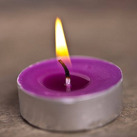 candel with flamme  Stock Photo - 12508230
