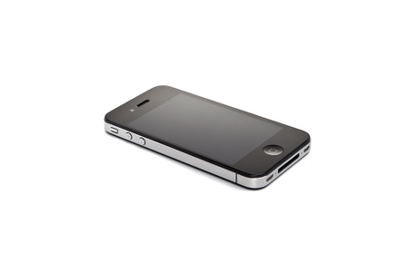 4s: Apple Iphone 4S on white background