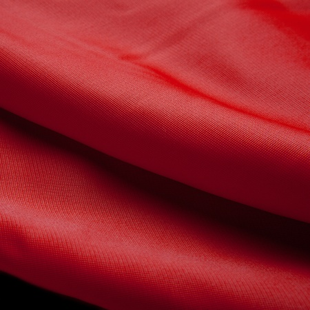 Red silk cloth with fold litter Stock Photo - 12541950