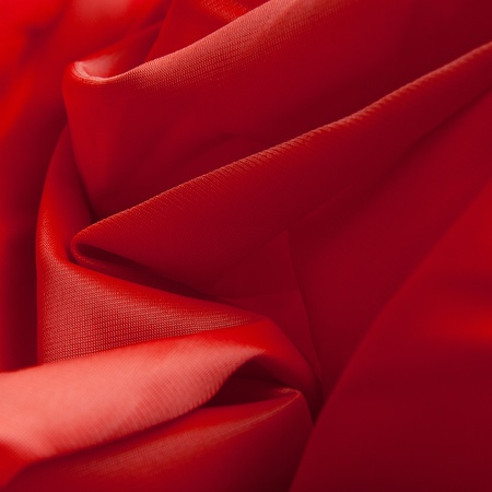 Red silk cloth with fold litter Stock Photo - 12541971