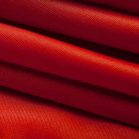 Red silk cloth with fold litter Stock Photo - 12541972