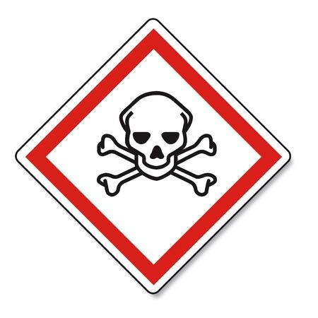 GHS Warnung Warnschild Vektor