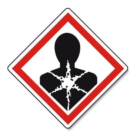 explosion hazard: GHS warning danger sign Vektor