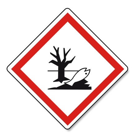 GHS warning danger sign Vektor