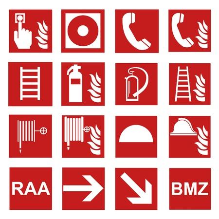 clasificacion: La seguridad contra incendios signo de fuego el fuego se�al de advertencia de juego