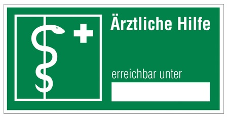 alternatively: Rescue signs icon asklepios rod snake cross