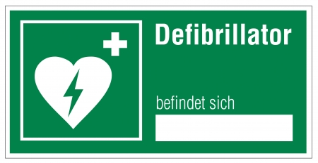 Rescue signs icon defibrillator heart cross Vector