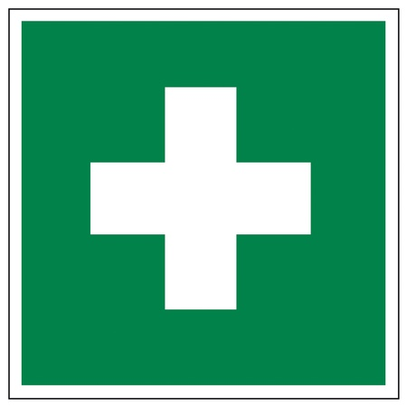 first aid box: Rescue signs icon exit emergency first aid kit