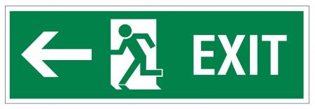 Rescue tekenen icoon afslag nood pijl weg te spoelen