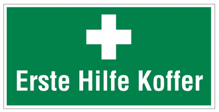 cross linked: Rescue signs icon exit emergency first aid kit