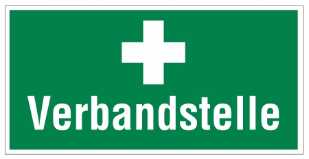 alternatively: Icon segni delle uscite di emergenza pronto soccorso Vettoriali