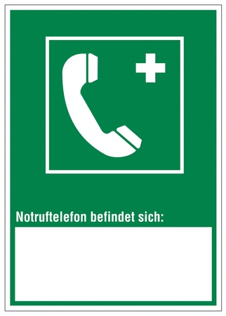 intervention: Rescue signs icon exit emergency ladder rescue phone Illustration