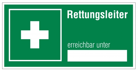 alternatively: Rescue signs icon exit emergency ladder Illustration