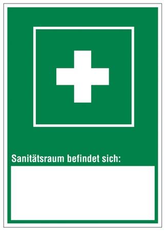 alternatively: Icon segni uscita spazio emergenza sanitaria