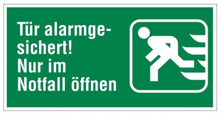 no correr: Rescate icono de señal de salida de emergencia del sistema de alarma
