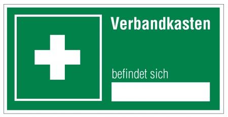 alternatively: Icon segni uscita di emergenza di pronto soccorso caso di kit