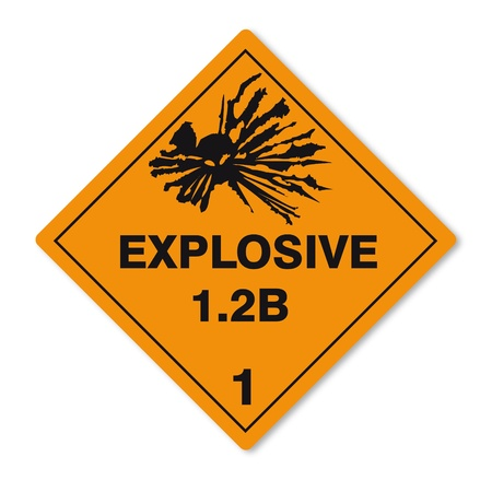 Hazardous substances signs icon flammable skull explosion bomb Vector