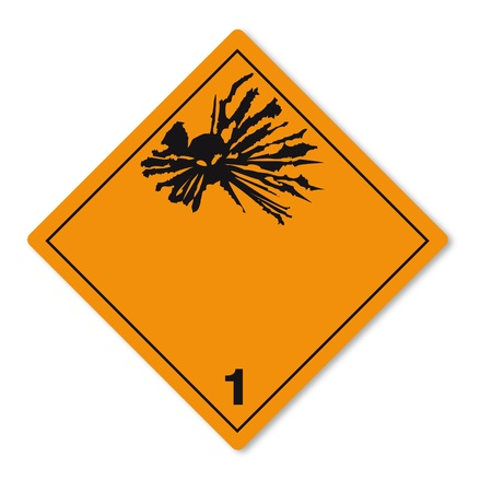 substances: Hazardous substances signs icon flammable skull explosion bomb