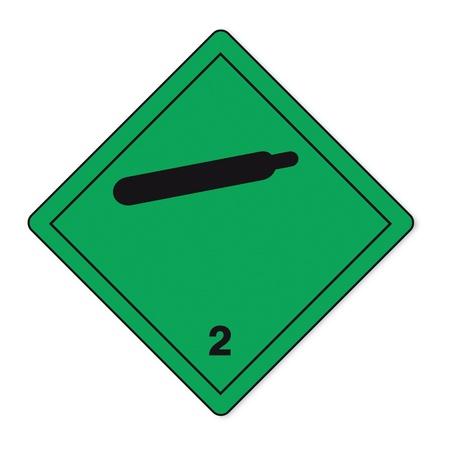 Sustancias peligrosas señales icono de la calavera de gas inflamable al fuego radiactivo