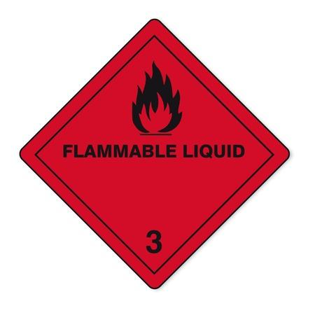 Las sustancias peligrosas señales icono de la calavera inflamables radiactivo fuego