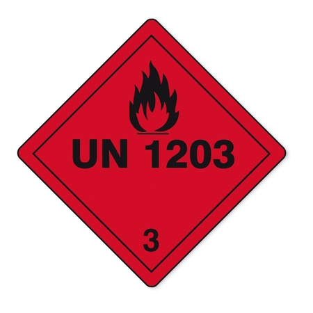 Hazardous substances signs icon flammable skull radioactive fire Vector