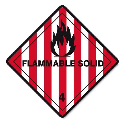sustancias peligrosas: Las sustancias peligrosas se�ales icono de la calavera inflamables radiactivo fuego