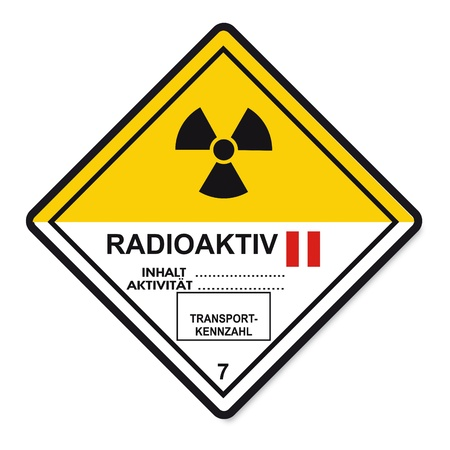 Hazardous substances signs icon flammable skull radioactive atom Stock Vector - 14380158