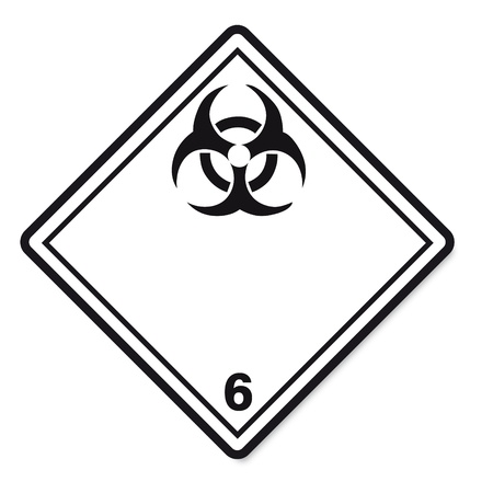 substances: Hazardous substances signs icon flammable skull radioactive hazard corrosive
