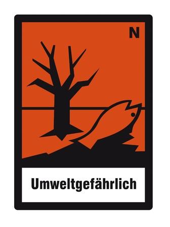 chemical hazard: safety sign danger sign hazardous chemical chemistry toxic environment Illustration