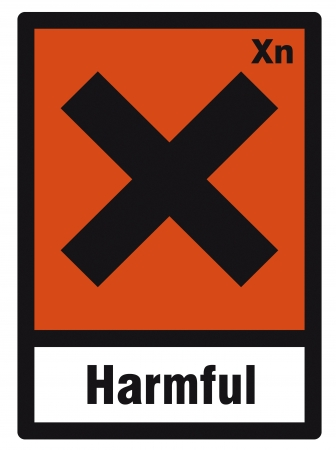 oxidising: safety sign danger sign hazardous chemical chemistry harmful