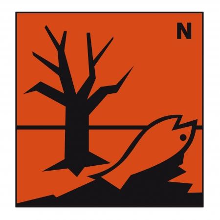 symbole chimique: signe de danger de la sécurité signe un environnement dangereux chimie produit chimique toxique