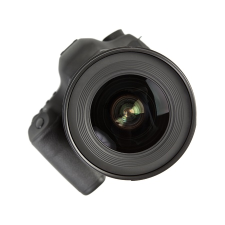 Digital dslr Camera with lens  Stockfoto