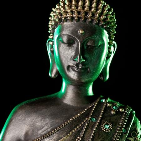 shogun: Buddha statue with green glow