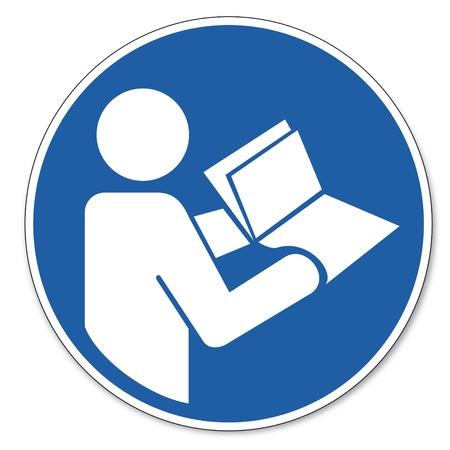 Mandado señales de seguridad de signo pictograma de trabajo Instrucciones de seguridad para el uso de signos manual de preguntas frecuentes