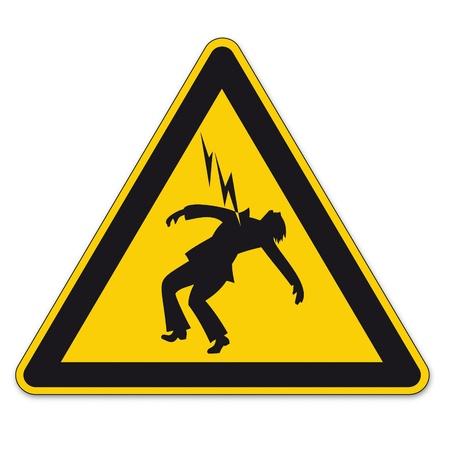 note of exclamation: Seguridad signos de advertencia tri�ngulo signo vector pictograma icono Peligro rayo de alta tensi�n