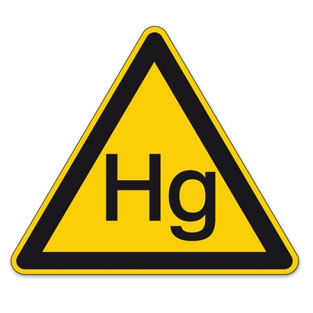 respectfully: Safety signs warning warndreieck BGV A8 triangle sign vector pictogram icon mercury