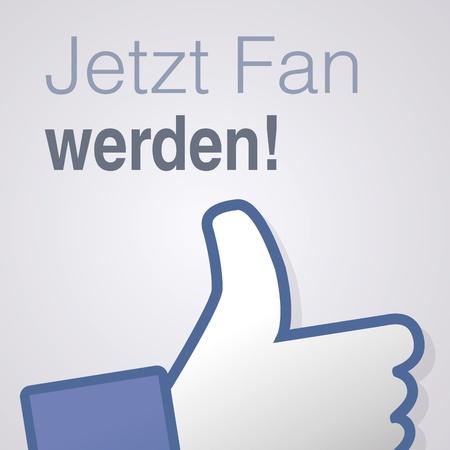 i like: Face symbol hand i like fan fanpage social voting dislike network book icon jetzt fan werden