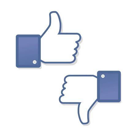 no gustar: S�mbolo Cara mano me gusta fanpage fan voto social del icono de libro de red aversi�n comunidad