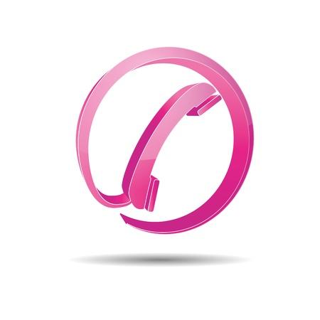 hotline: Kontakt Kreis Telefon-Hotline kontaktfomular callcenter Anruf piktogramme symbol telephone Illustration