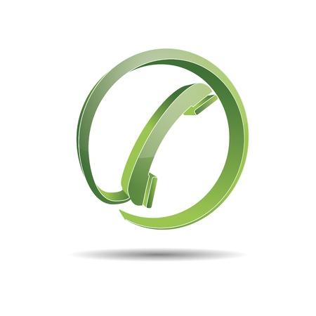 Contact circle phone hotline kontaktfomular callcenter call pictogram sign symbol telephone Stock Vector - 14757920