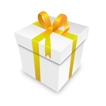 free gift: gift package gift box packet gold yellow parcel wrapping xmas valentine