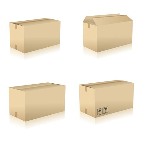 removals boxes: parcel parcel delivery set transport box cardboard delivery parcel shipment tracking logistics