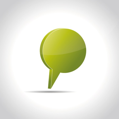 Talking bubble speech bubble thought bubble icon bubble help answer mindmap internet advertising faqs comic Vector