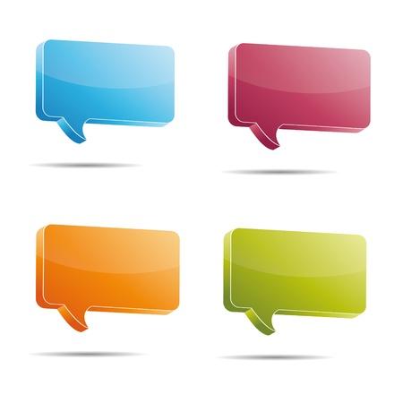 faq's: Talking bubble set speech bubble thought bubble icon bubble help answer mindmap internet advertising faqs comic Illustration