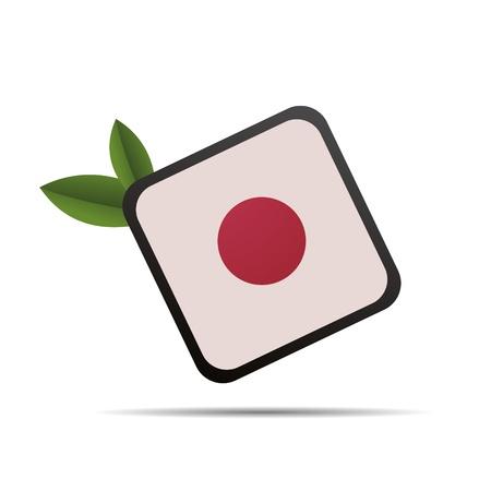 slogan: 3D abstracción japón china restaurante comiendo palillos círculo logo Suhsi
